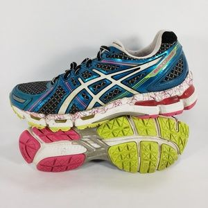ASICS Gel-Kayano 19 Shoes Athletic Running Blue